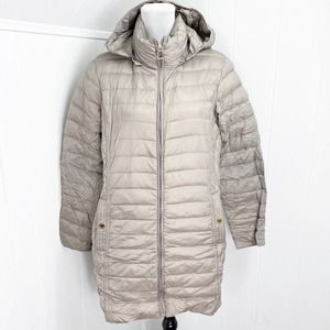 MICHAEL KORS Quilted Down Packable Parka Jacket